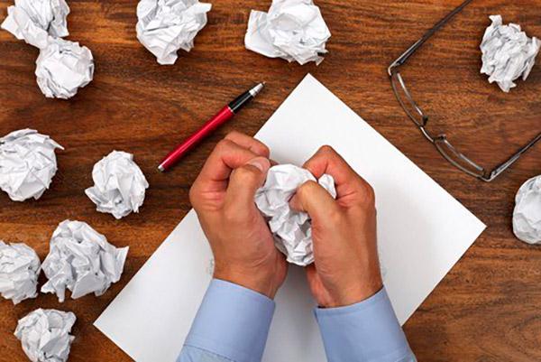 sin ideas escribir blog