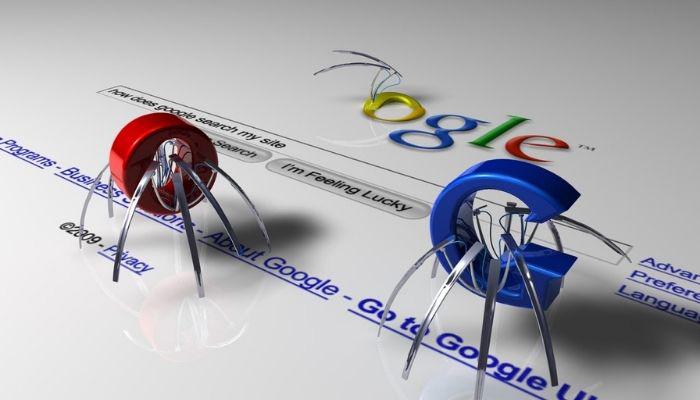 arañas google